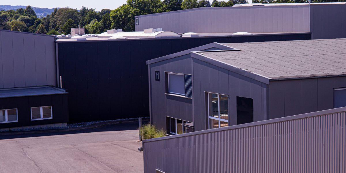 Lager- und Produktionshallen im Gewerbepark Lage-Kachtenhausen